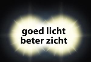 Goed licht beter zicht